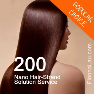 200 Nano hair strand solution service