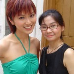 Joanne Peh and Fionna Lau