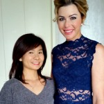 Paula Creamer and Fionna Lau